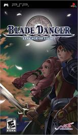 Box cover for Blade Dancer: Lineage of Light on the Sony PSP.