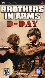 Box cover for Brothers in Arms: D-Day on the Sony PSP.