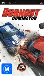 Box cover for Burnout Dominator on the Sony PSP.
