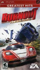Box cover for Burnout Legends on the Sony PSP.