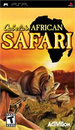 Box cover for Cabela's African Safari on the Sony PSP.