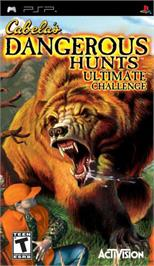 Box cover for Cabela's Dangerous Hunts: Ultimate Challenge on the Sony PSP.