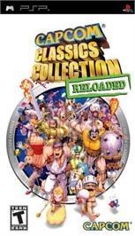 Box cover for Capcom Classics Collection Reloaded on the Sony PSP.