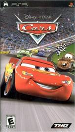Box cover for Cars on the Sony PSP.