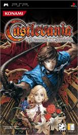 Box cover for Castlevania: The Dracula X Chronicles on the Sony PSP.