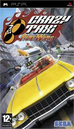 Box cover for Crazy Taxi: Fare Wars on the Sony PSP.