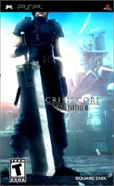 Box cover for Crisis Core: Final Fantasy 7 on the Sony PSP.