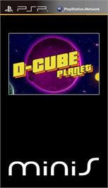Box cover for Cube on the Sony PSP.