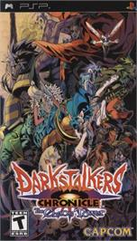 Box cover for Darkstalkers Chronicle: The Chaos Tower on the Sony PSP.