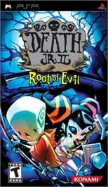 Box cover for Death Jr. II: Root of Evil on the Sony PSP.