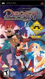 Box cover for Disgaea: Afternoon of Darkness on the Sony PSP.