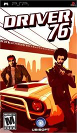 Box cover for Driver '76 on the Sony PSP.