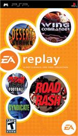 Box cover for EA Replay on the Sony PSP.