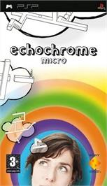 Box cover for Echo Chrome on the Sony PSP.