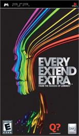 Box cover for Every Extend Extra on the Sony PSP.