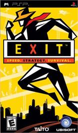 Box cover for Exit on the Sony PSP.