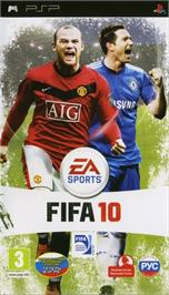 Box cover for FIFA on the Sony PSP.