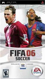 Box cover for FIFA 6 on the Sony PSP.