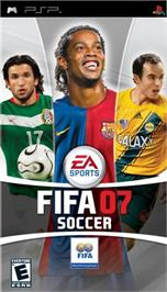 Box cover for FIFA 7 on the Sony PSP.