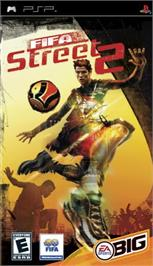 Box cover for FIFA Street 2 on the Sony PSP.