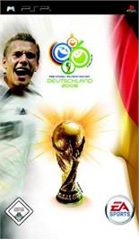 Box cover for FIFA World Cup: Germany 2006 on the Sony PSP.