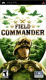 Box cover for Field Commander on the Sony PSP.