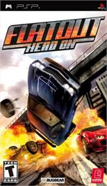 Box cover for FlatOut: Head On on the Sony PSP.