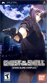 Box cover for Ghost in the Shell: Stand Alone Complex on the Sony PSP.