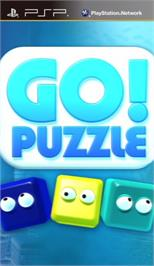 Box cover for Go! Puzzle on the Sony PSP.