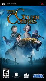Box cover for Golden Compass on the Sony PSP.