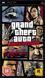 Box cover for Grand Theft Auto: Liberty City Stories on the Sony PSP.