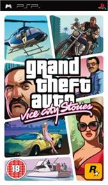 Box cover for Grand Theft Auto: Vice City Stories on the Sony PSP.