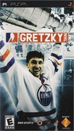 Box cover for Gretzky NHL on the Sony PSP.