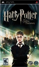 Box cover for Harry Potter and the Order of the Phoenix on the Sony PSP.