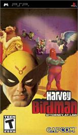 Box cover for Harvey Birdman: Attorney at Law on the Sony PSP.