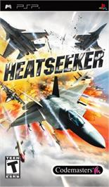 Box cover for Heat Seeker on the Sony PSP.