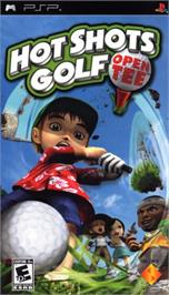 Box cover for Hot Shots Golf: Open Tee on the Sony PSP.