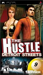 Box cover for Hustle: Detroit Streets on the Sony PSP.
