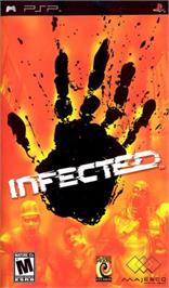 Box cover for Infected on the Sony PSP.