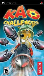 Box cover for Kao Challengers on the Sony PSP.