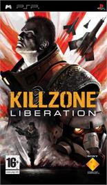 Box cover for Killzone: Liberation on the Sony PSP.
