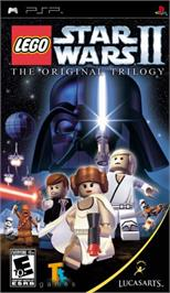 Box cover for LEGO Star Wars 2: The Original Trilogy on the Sony PSP.