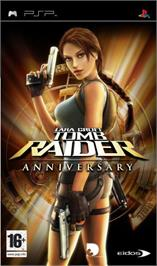 Box cover for Lara Croft Tomb Raider: Anniversary on the Sony PSP.