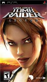 Box cover for Lara Croft Tomb Raider: Legend on the Sony PSP.