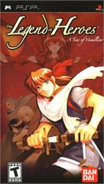 Box cover for Legend of Heroes on the Sony PSP.