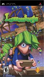 Box cover for Lemmings on the Sony PSP.