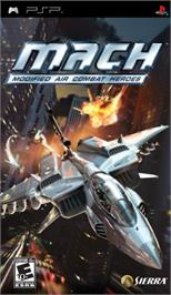 Box cover for M.A.C.H.: Modified Air Combat Heroes on the Sony PSP.