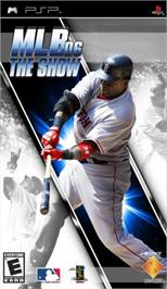 Box cover for MLB 08: The Show on the Sony PSP.
