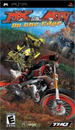 Box cover for MX vs. ATV: On the Edge on the Sony PSP.