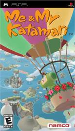 Box cover for Me & My Katamari on the Sony PSP.
